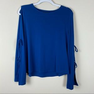 Simply Styled by Sears Cold Shoulder Royal Blue